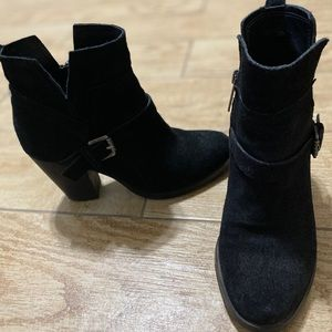 Ivanka Trump Suede ankle boots